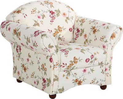 Max Winzer® Sessel »Carolina«, im romantischen Look, Blumen