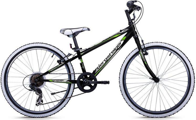 bergsteiger Mountainbike »Kansas«, 6 Gang Shimano Tourney RD-TY300 Schaltwerk, Kettenschaltung