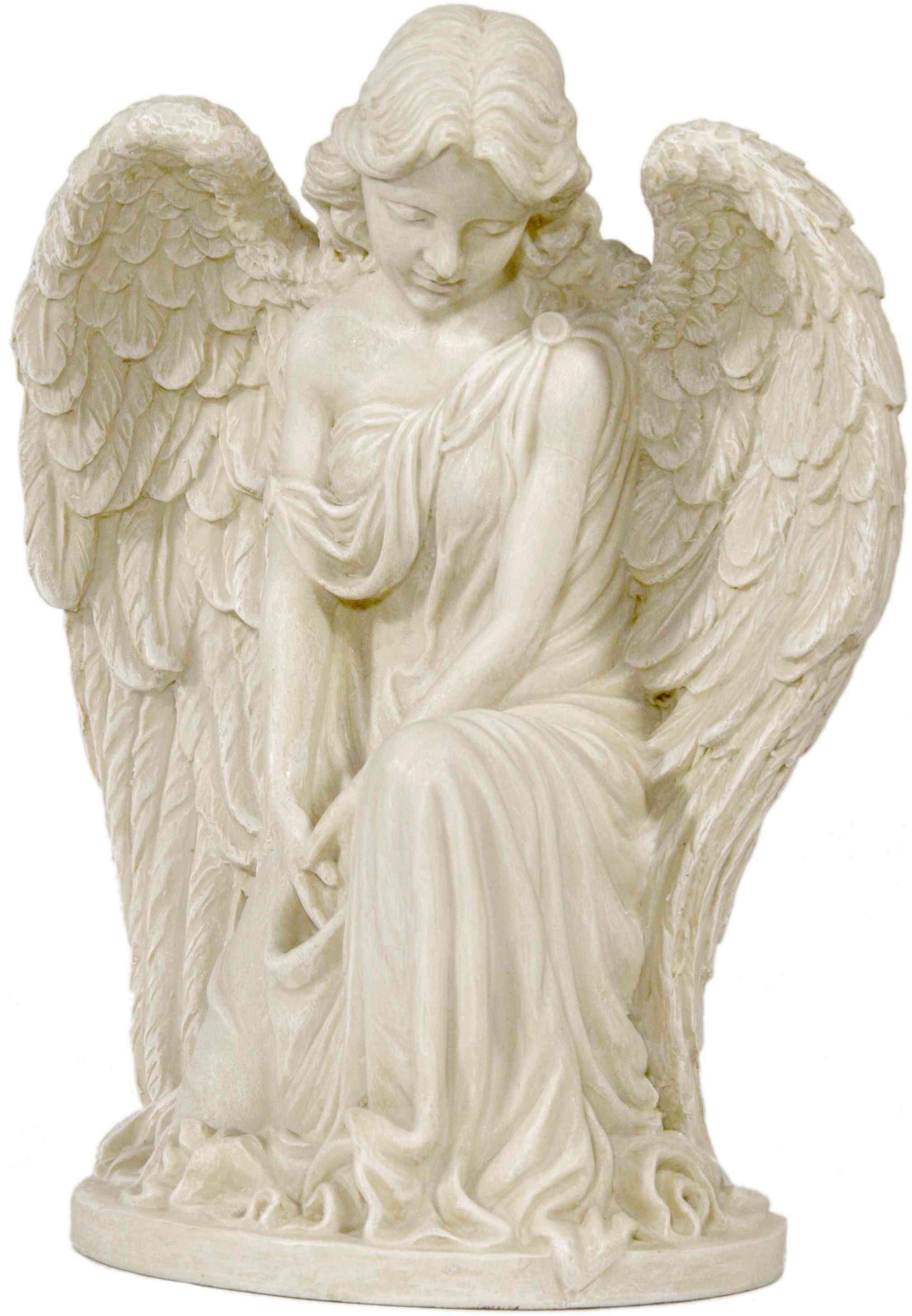 Home affaire Dekofigur »Engel mit einem Bein kniend«