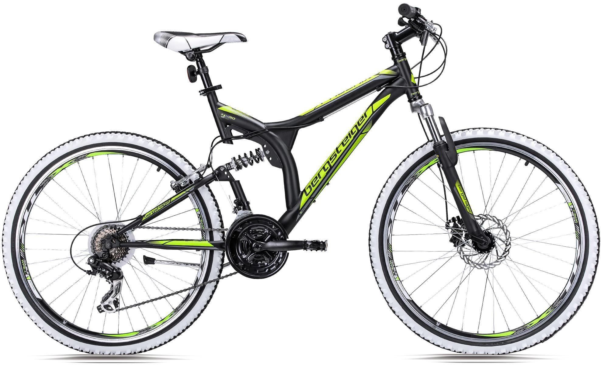 bergsteiger Mountainbike »Phoenix«, 21 Gang Shimano Tourney RD-TY300 Schaltwerk, Kettenschaltung