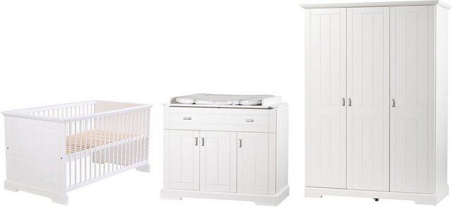 Babyzimmer - Geuther Babyzimmer Komplettset »COTTAGE, 3 tlg.«, (Set, 3 tlg)  - Onlineshop OTTO