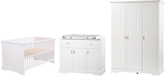 Geuther Babyzimmer-Komplettset »COTTAGE, 3-tlg.«, (Set, 3-tlg)