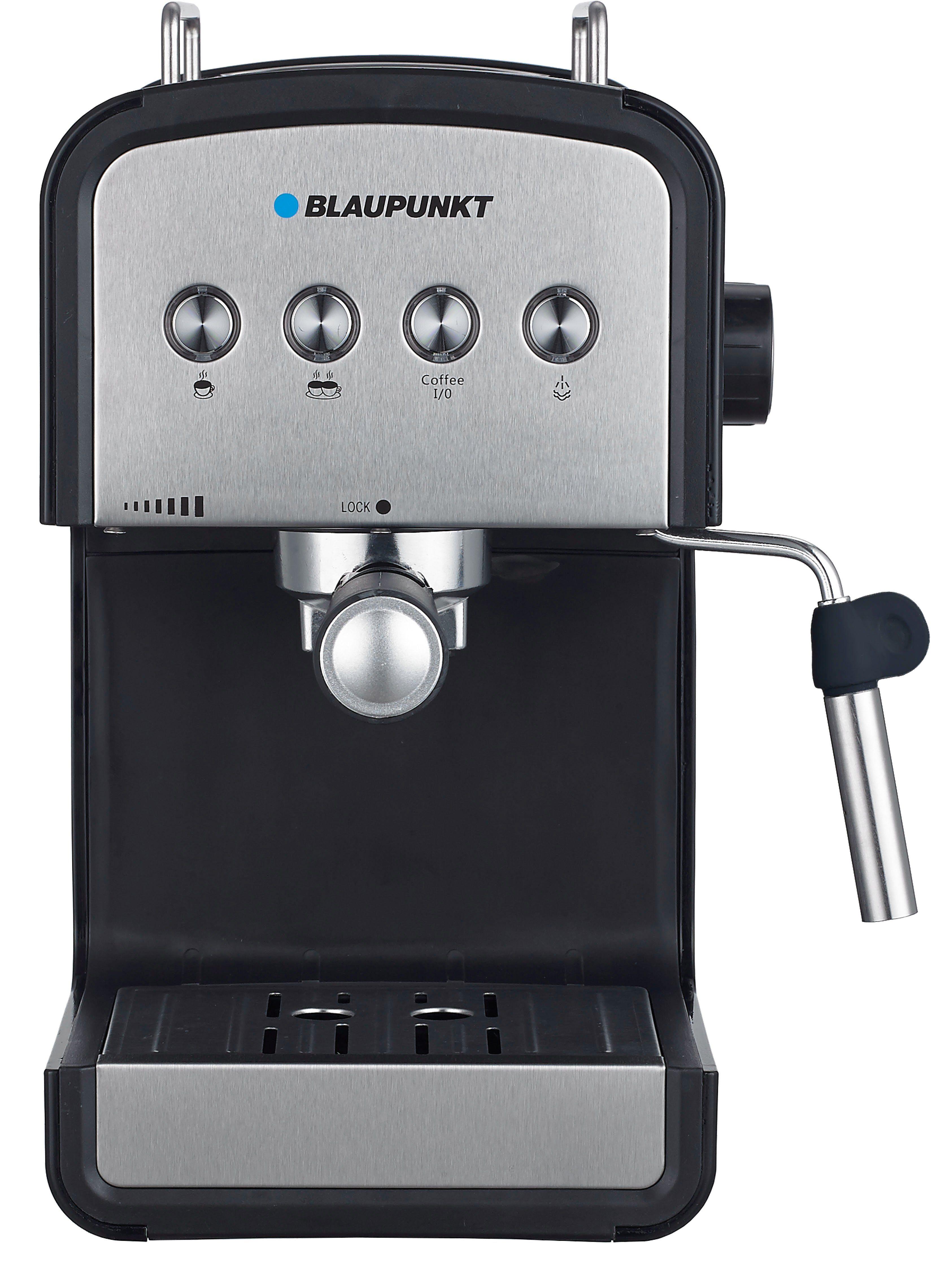 Blaupunkt Espresso Siebträgermaschine, Kaffeemaschine »CMP401BK«