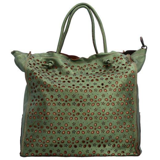 Caterina Lucchi Shopper Tasche Leder 35 cm