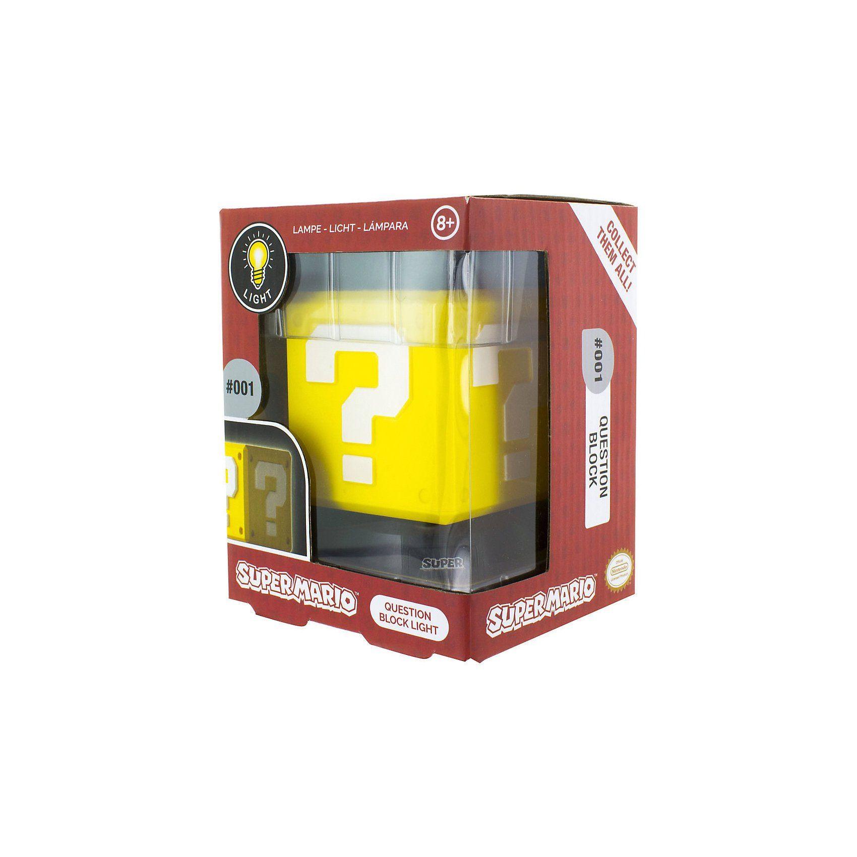 Super Mario Question Block 3D Leuchte