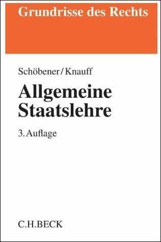 Broschiertes Buch »Allgemeine Staatslehre«
