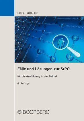 Broschiertes Buch »Fälle und Lösungen zur StPO für die Ausbildung...«