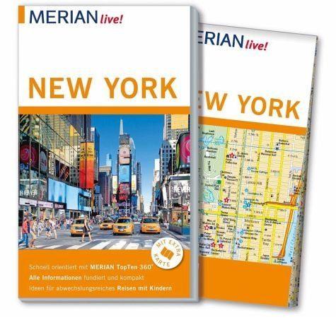 Broschiertes Buch »MERIAN live! Reiseführer New York«