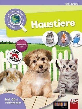 Gebundenes Buch »Leselauscher Wissen: Haustiere (inkl. CD und...«