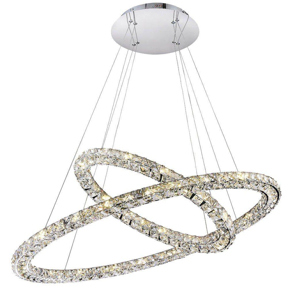 Licht-Trend Hängeleuchte »Cristallo LED mit Glaskristallen« | Lampen > Deckenleuchten > Pendelleuchten | Licht-Trend