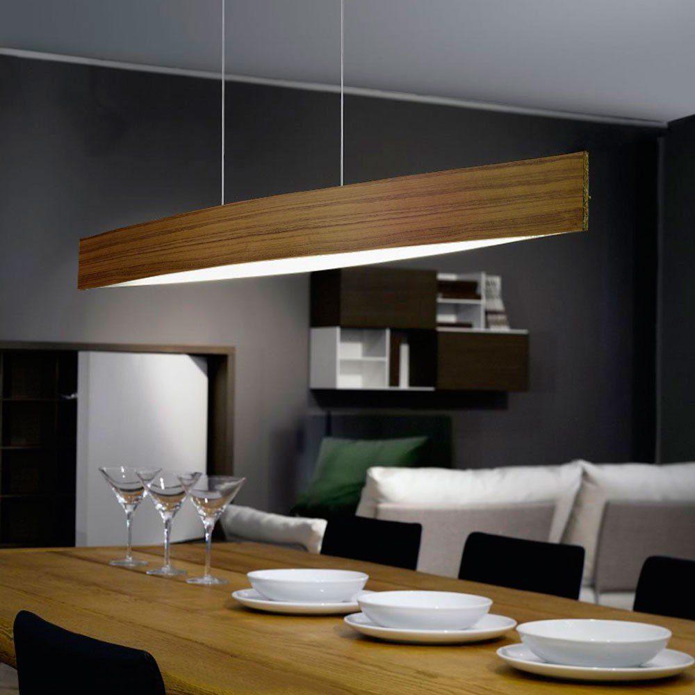 Licht-Trend Hängeleuchte »Fore LED in Nuss«