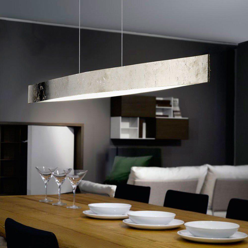 Licht-Trend Hängeleuchte »Fore LED in Blattsilber«