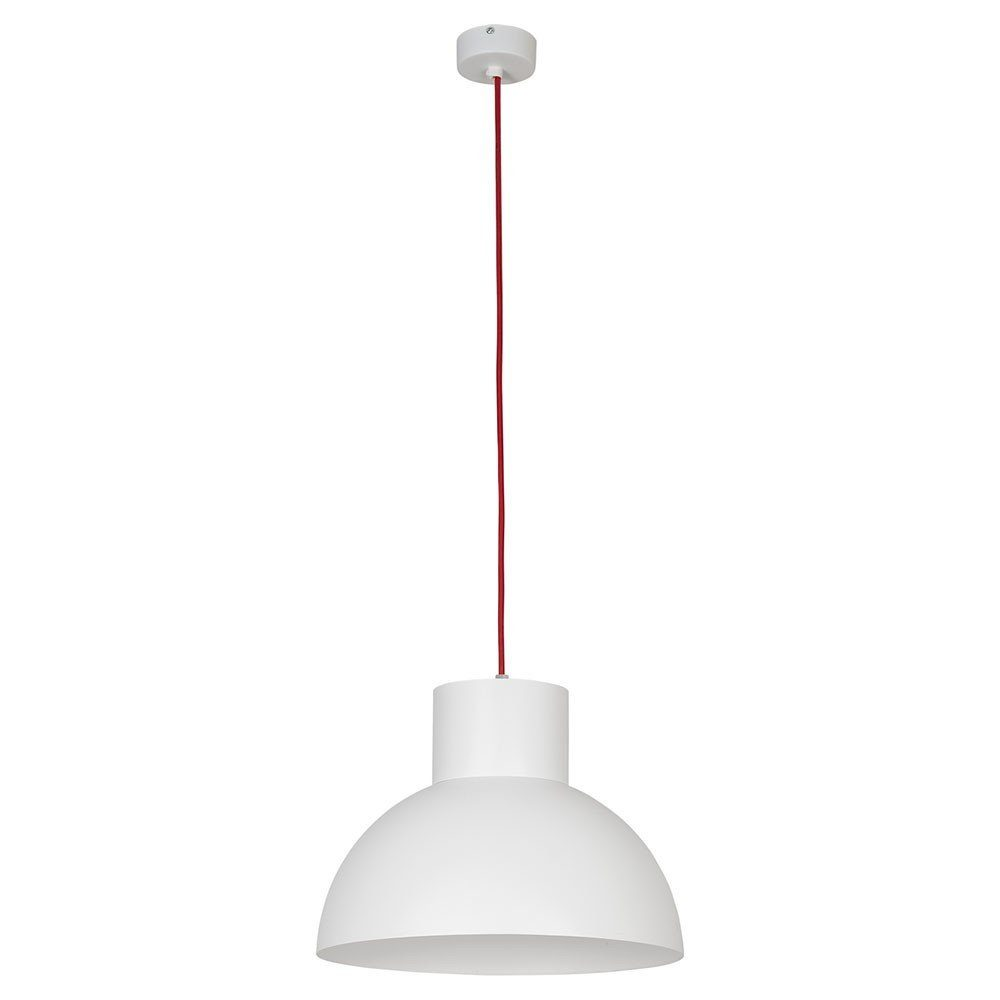 Licht-Trend Pendelleuchte »Wor Ø33cm in Weiss, Rot«