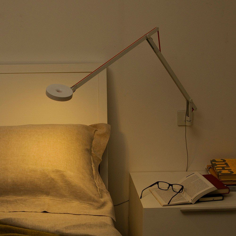 Rotaliana LED-Wandlampe »String mit Dimmer Silber«
