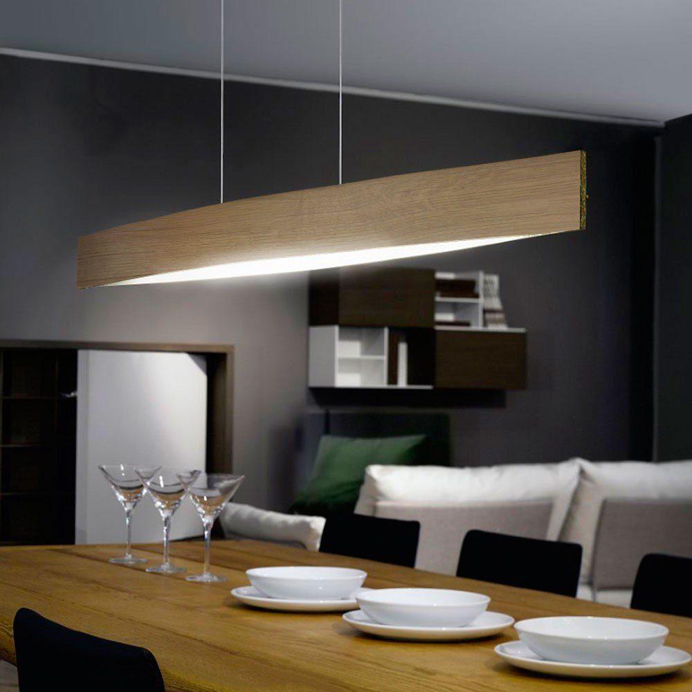 Licht-Trend Hängeleuchte »Fore LED in Eiche«