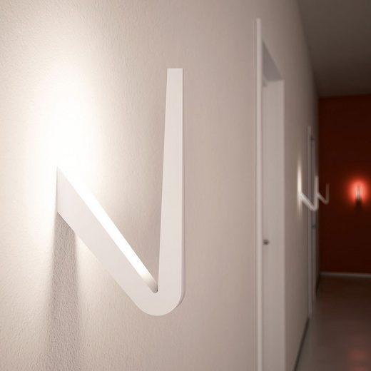 Rotaliana LED-Wandlampe »Tick 29cm Weiß«