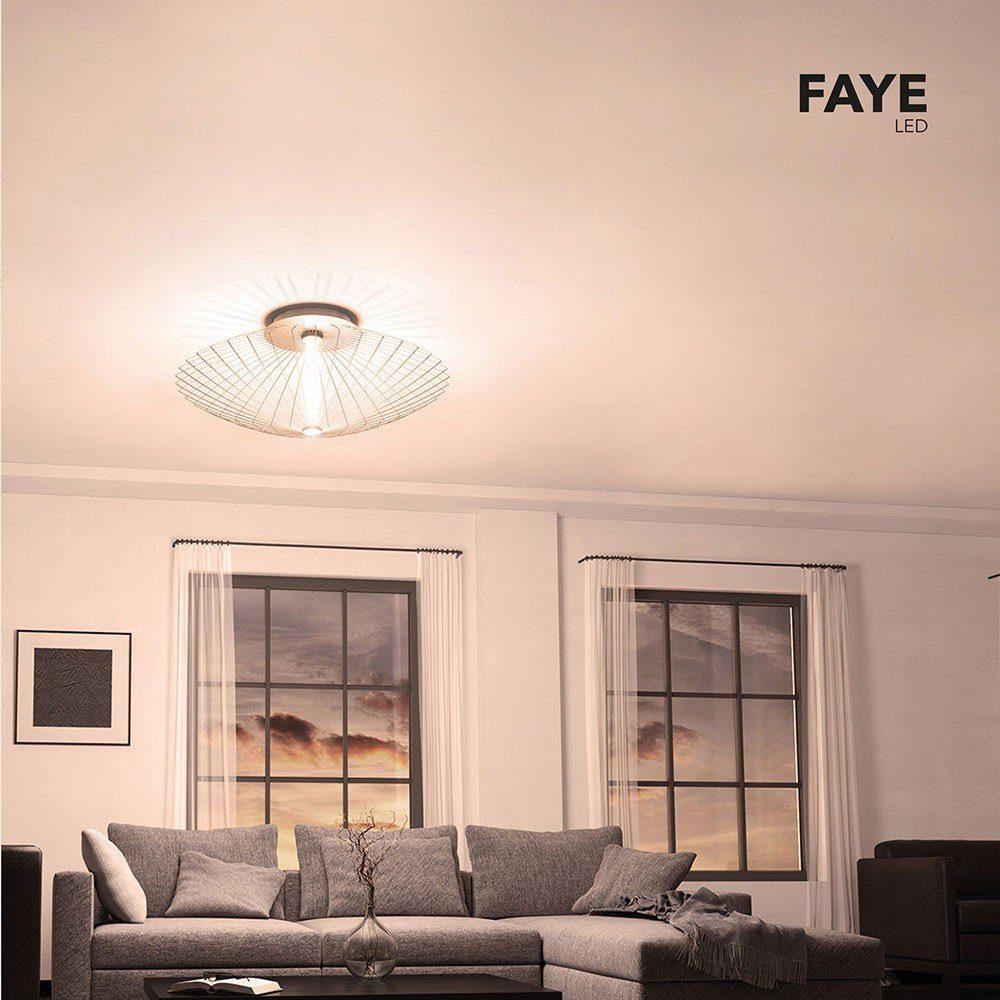 Grossmann LED Wand- & Deckenlampe »Faye XXL Ø 100cm Alu-matt«
