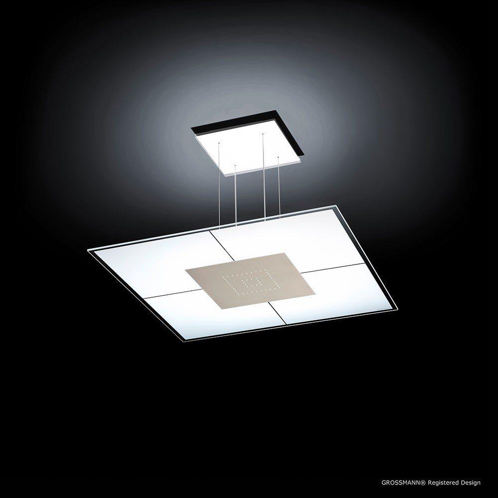 Grossmann LED-Pendelleuchte »Magic 50 x 50cm 2720 Lumen Alu-matt«