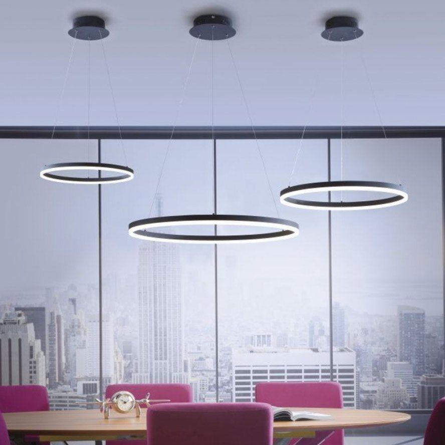 licht trend h ngeleuchte ring l led dimmbar ber schalter 80 online kaufen otto. Black Bedroom Furniture Sets. Home Design Ideas