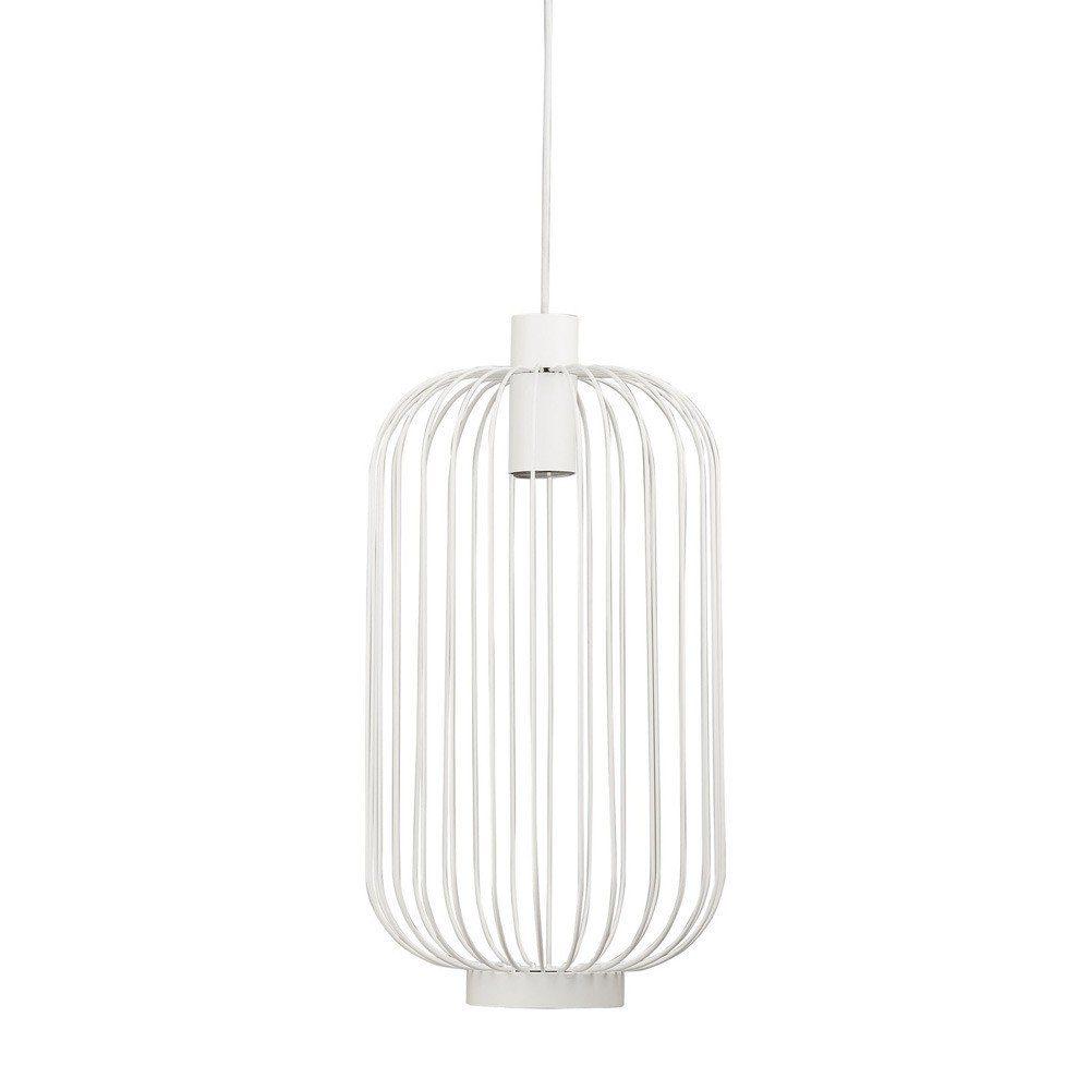 Licht-Trend Pendelleuchte »Cages M Gitter- Ø30cm Weiß«