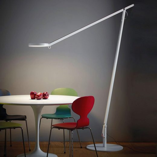 Rotaliana LED-Stehleuchte »String XL mit Dimmer Silber«