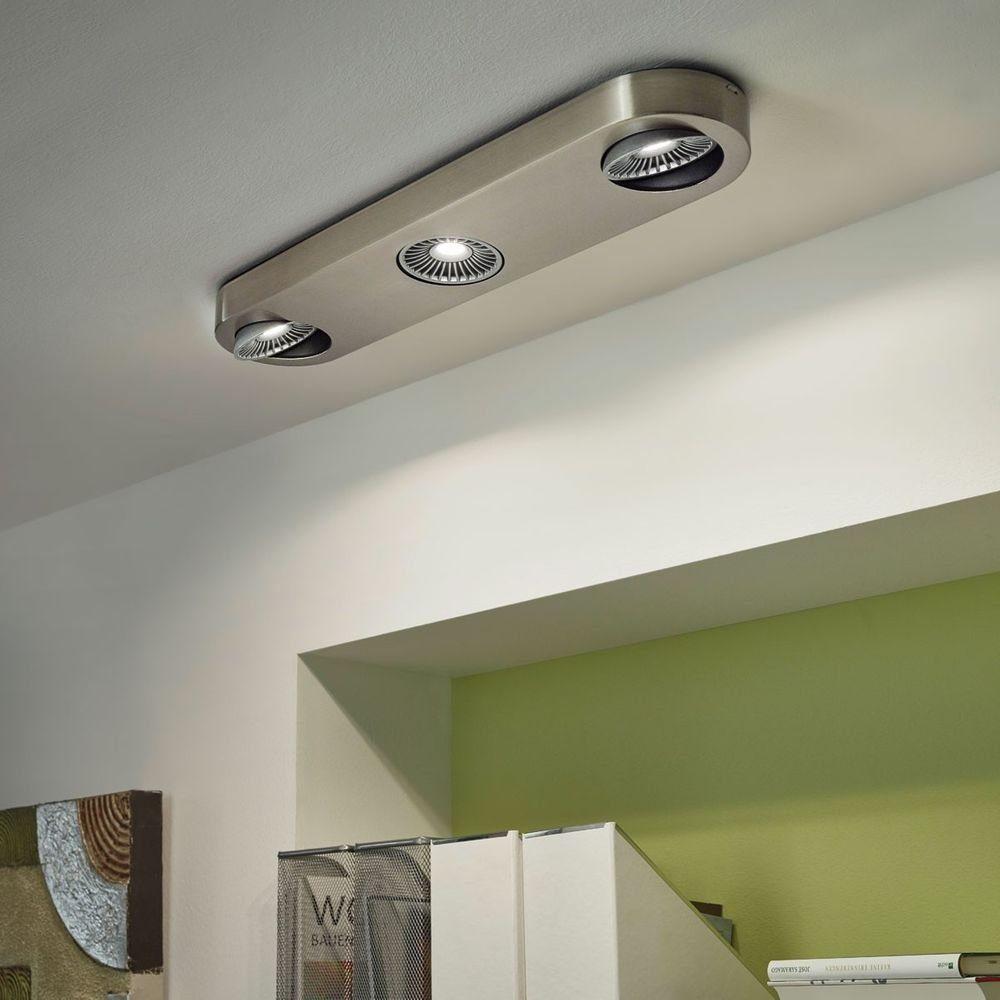 Licht-Trend Strahler »Orifice LED 3-flammig nickel-matt«