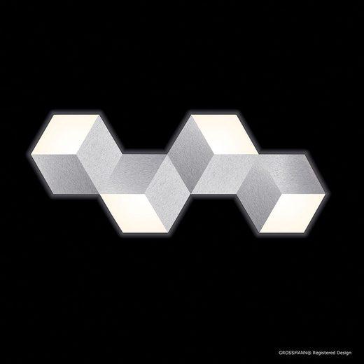 Grossmann LED-Deckenlampe »Geo 4-flammig 100 x 40cm Alu-matt«