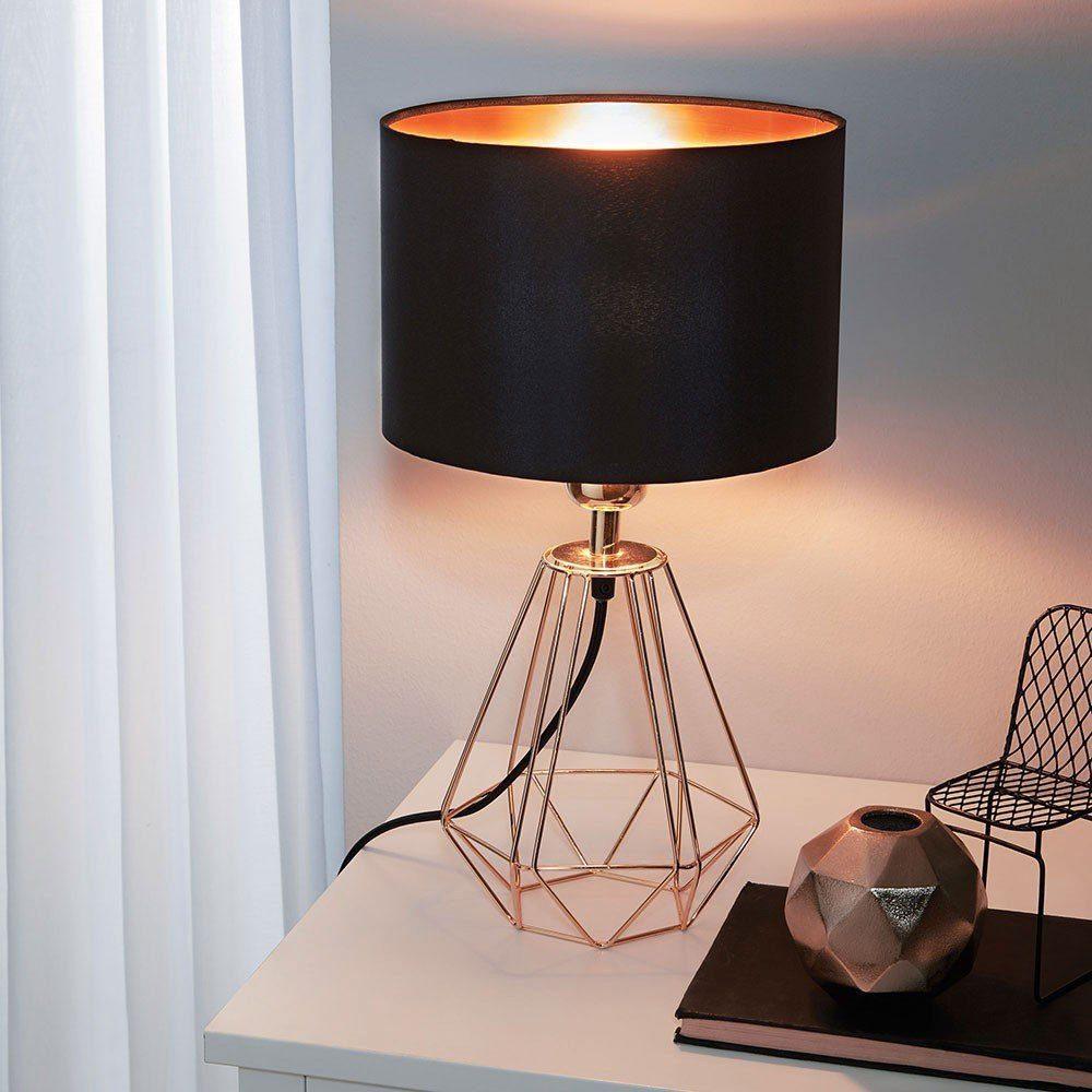 Licht-Trend Tischleuchte »Archaic im Vintage-Look Schwarz & Kupfer«