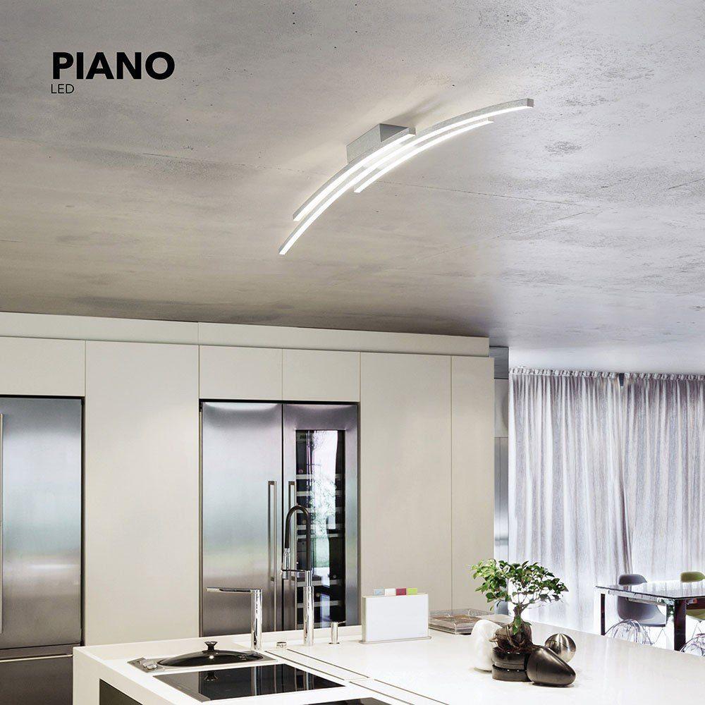 Grossmann LED-Deckenlampe »Piano 114cm 5440 Lumen Alu-matt«