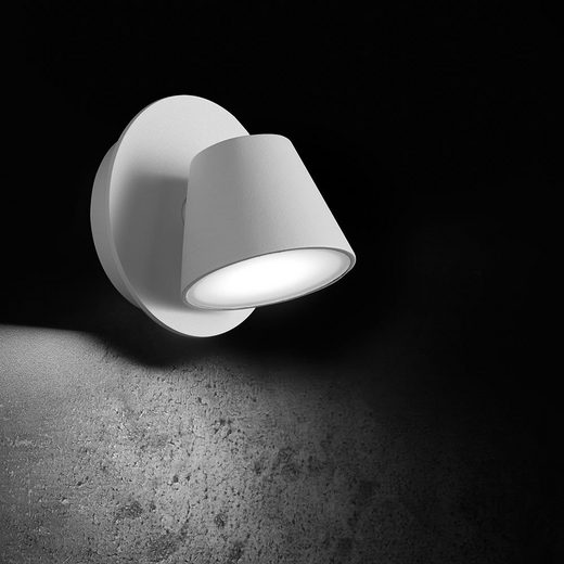 Licht-Trend Strahler »Cono I LED Wandspot 430 Lumen Weiß«