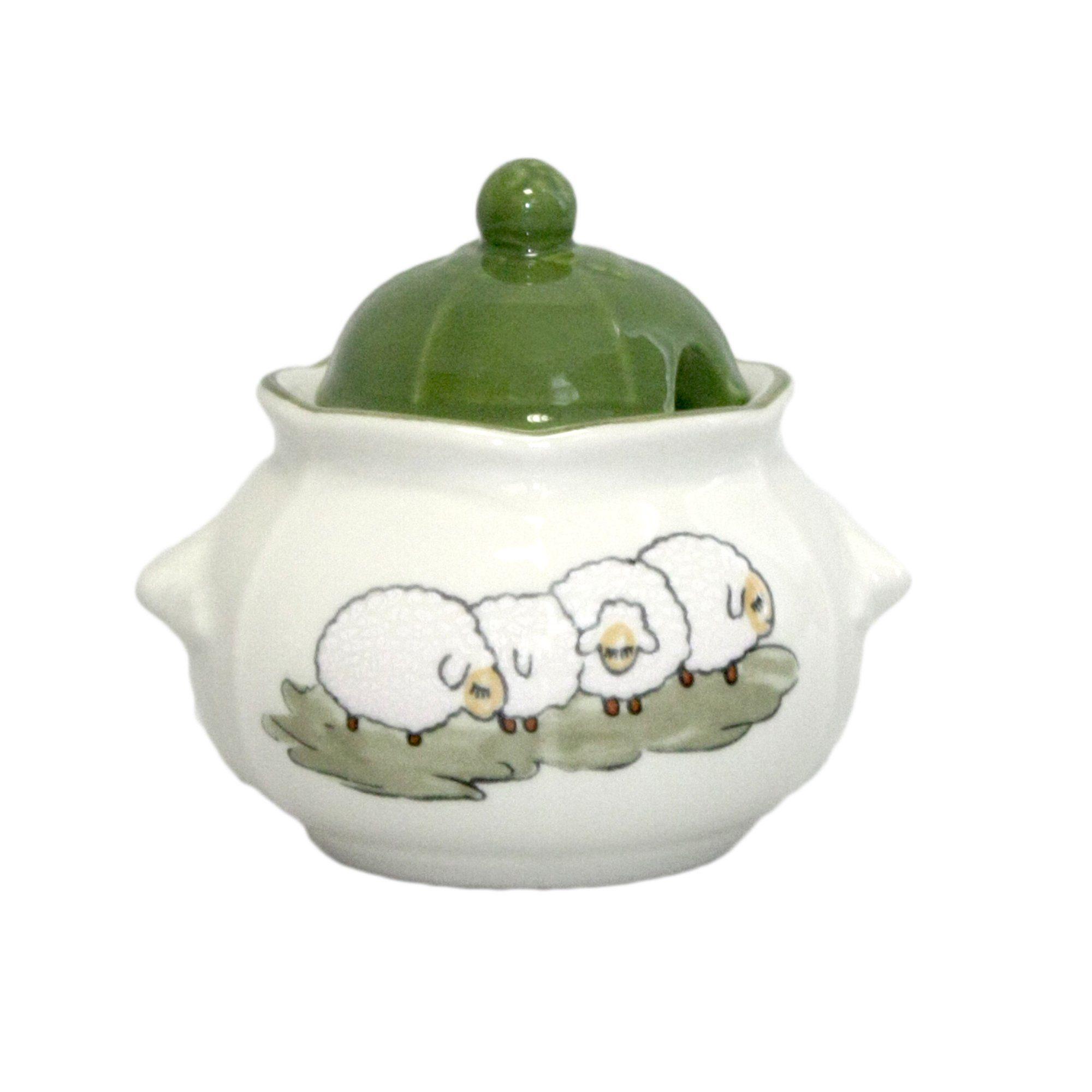 Zeller Keramik Zuckerdose »Schäfchen«