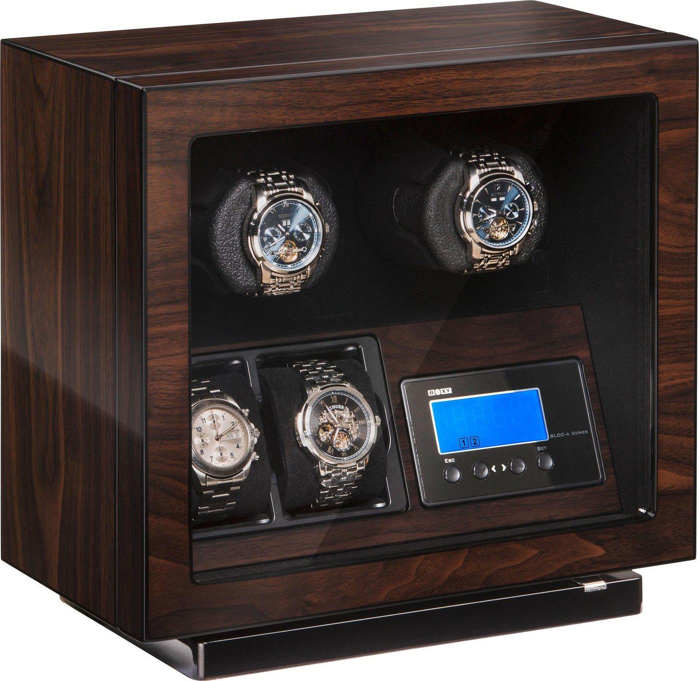 Boxy Uhrenbeweger »Boxy BLDC für 2 Uhren, 309417«   Uhren > Uhrenbeweger   Braun   Boxy