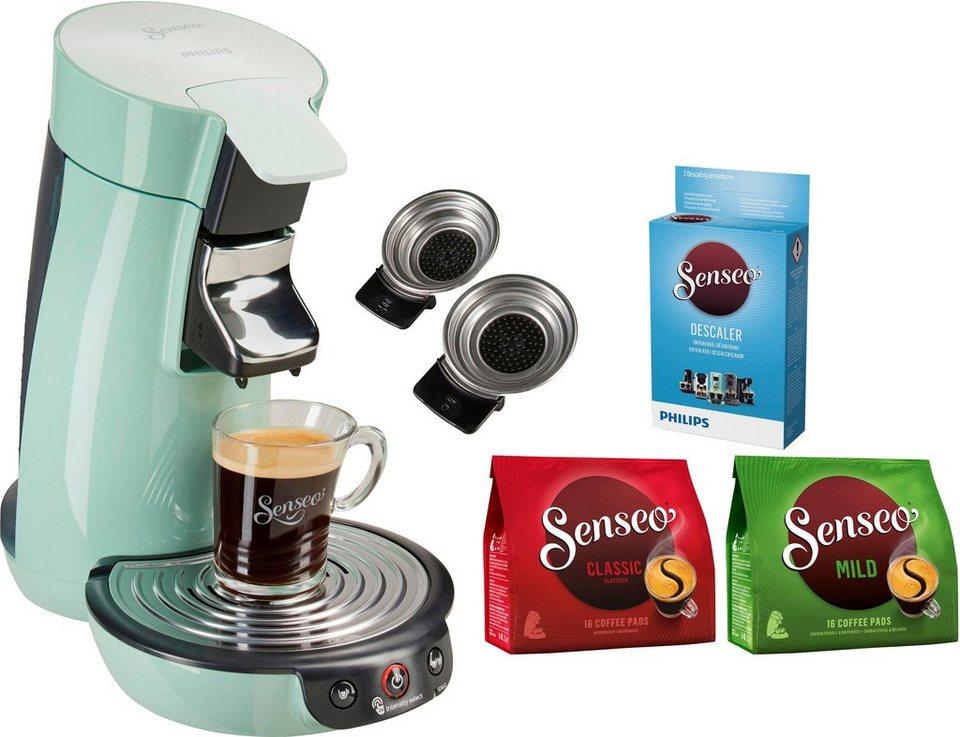 senseo kaffeepadmaschine senseo viva caf hd6563 10 inkl. Black Bedroom Furniture Sets. Home Design Ideas