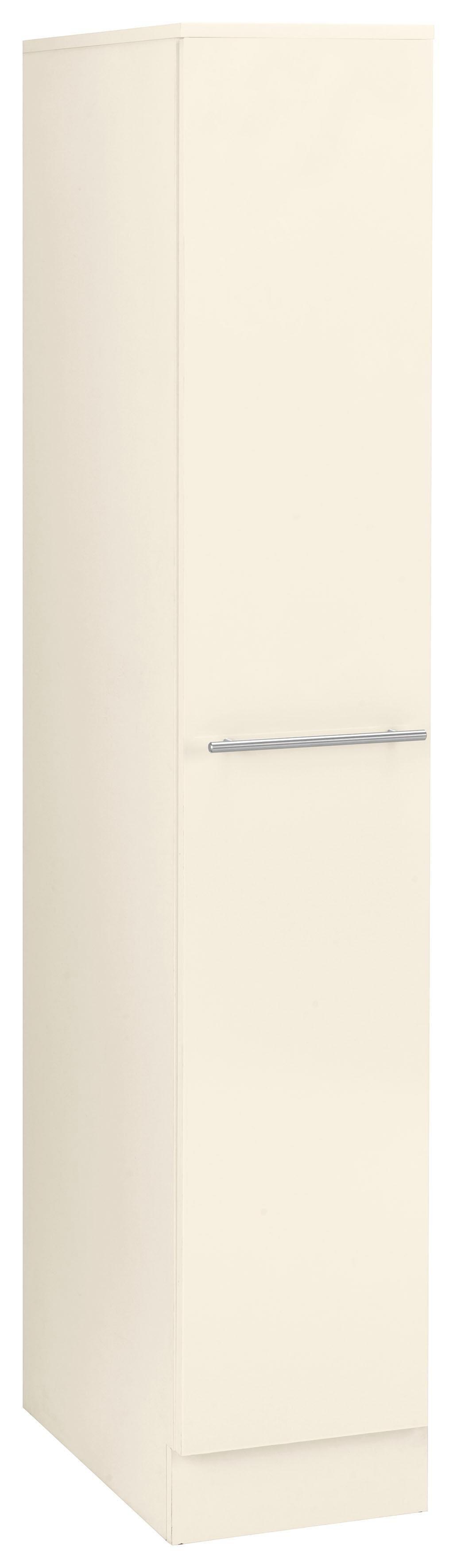 WIHO-Küchen Apothekerschrank »Flexi2« | Küche und Esszimmer > Küchenschränke > Apothekerschränke | Weiß - Rot - Glanz | Melamin | wiho Küchen