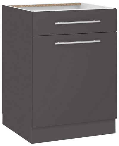 Wiho küchen unterschrank flexi2 breite 60 cm