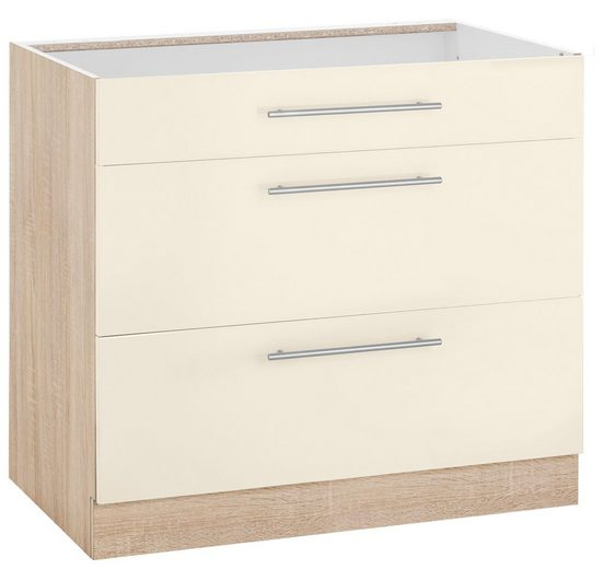 wiho Küchen Unterschrank »Flexi2« Breite 90 cm