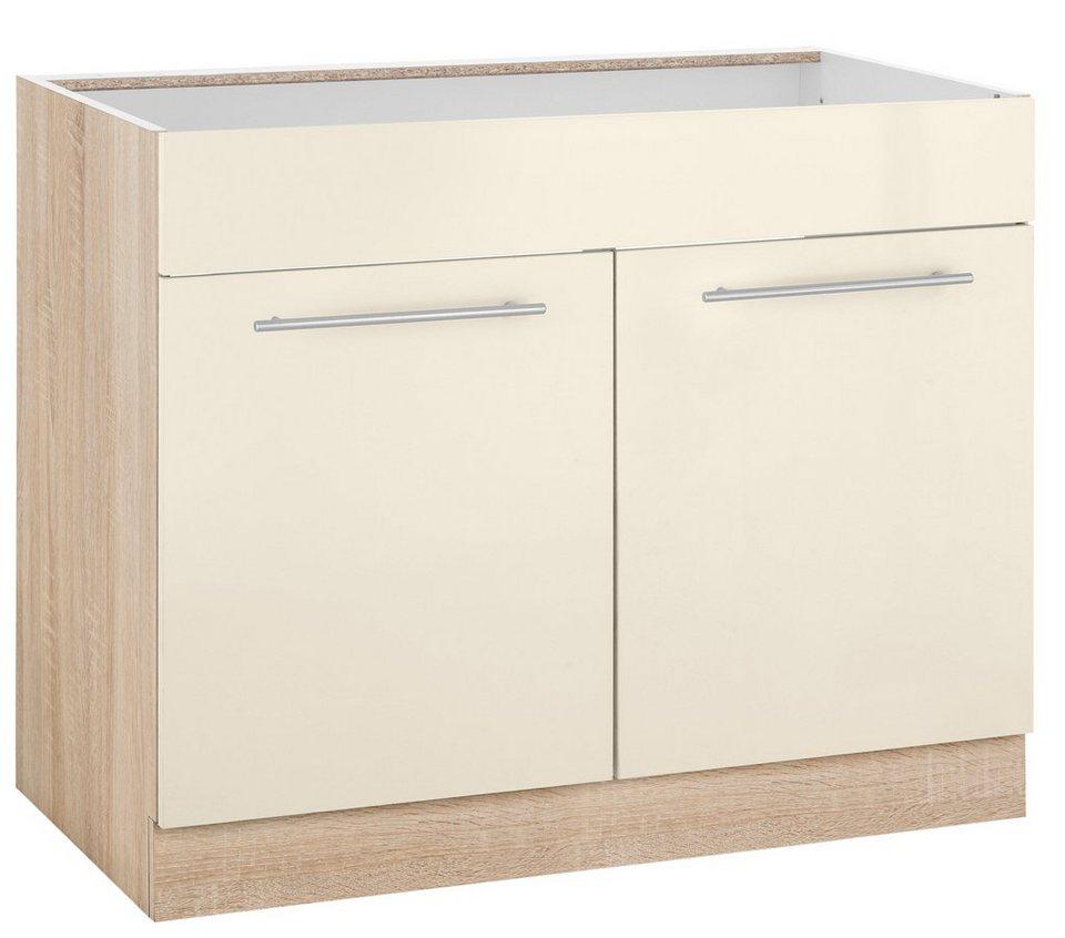 WIHO-Küchen Spülenschrank »Flexi2«, Breite 100 cm | OTTO