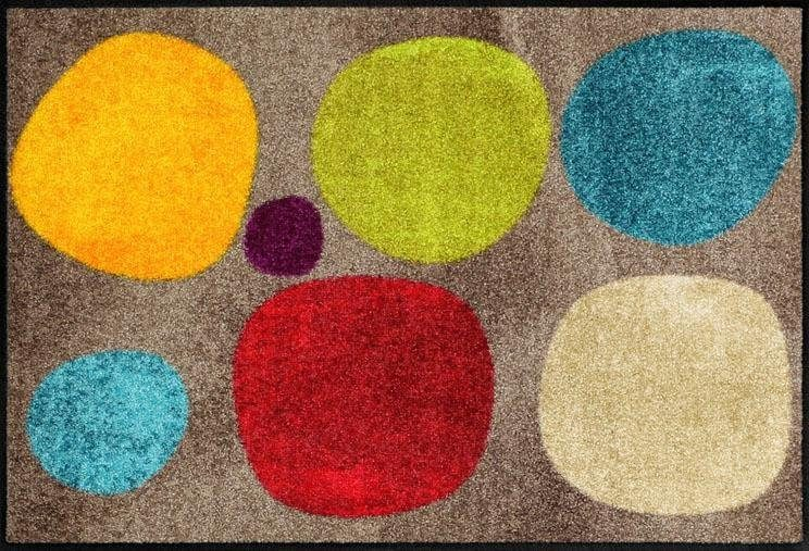 Fußmatte »Broken DotsColour«, Salonloewe, rechteckig, Höhe 6 mm, In- und Outdoor geeignet