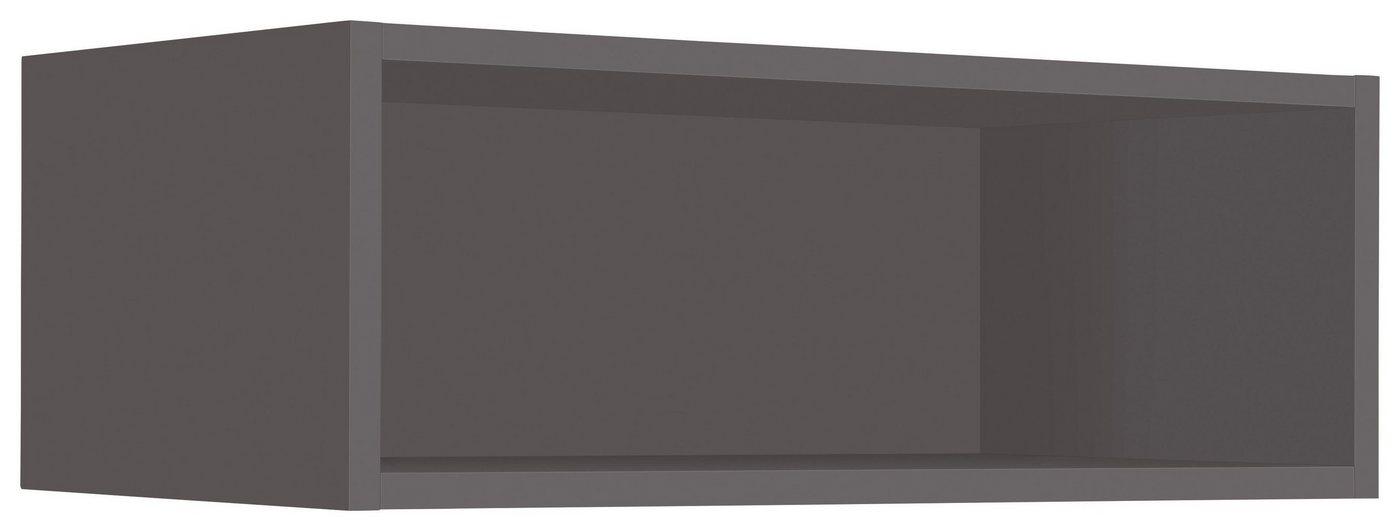 WIHO-Küchen Hängeregal »Flexi2«, Breite 60 cm | Küche und Esszimmer > Küchenregale > Küchen-Standregale | Grau | Melamin | wiho Küchen