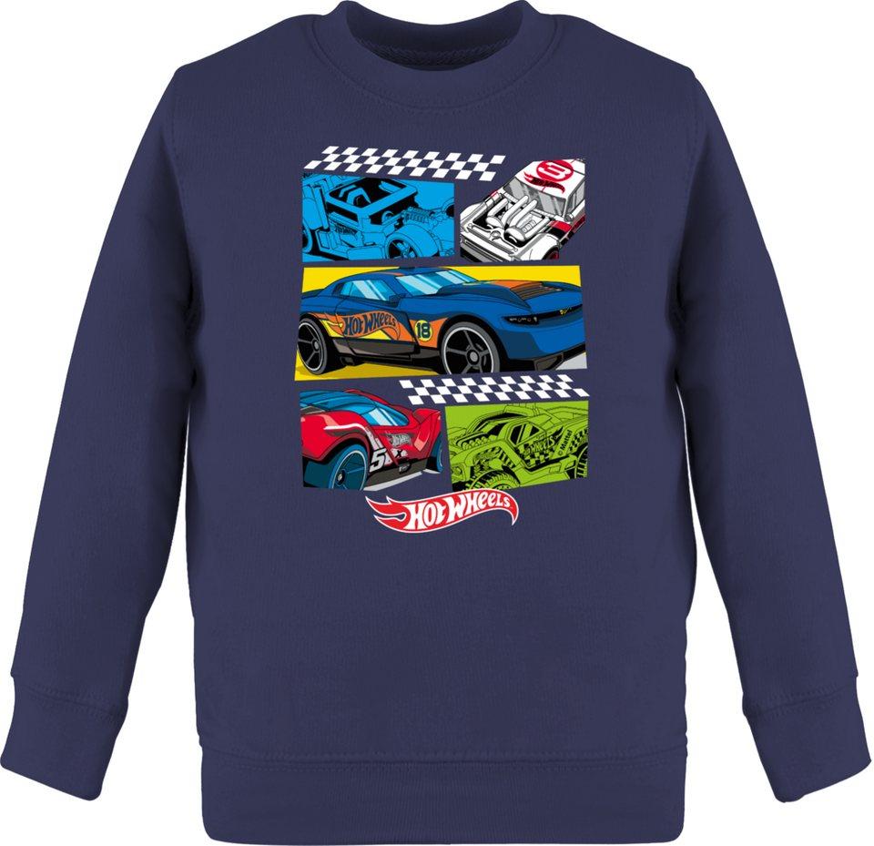shirtracer sweatshirt »comic rennautos  hot wheels