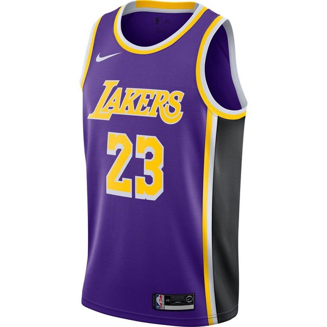 Nike Basketballtrikot »LeBron James Los Angeles Lakers« | Sportbekleidung > Trikots > Basketballtrikots | Nike