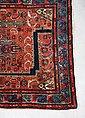 Wollteppich »Hamadan Teppich handgeknüpft braun«, morgenland, rechteckig, Höhe 7 mm, handgeknüpft, Bild 3