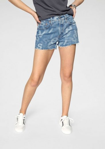 Levi's® Jeansshorts »501® ORIGINAL SHORT« mit Knopfleiste