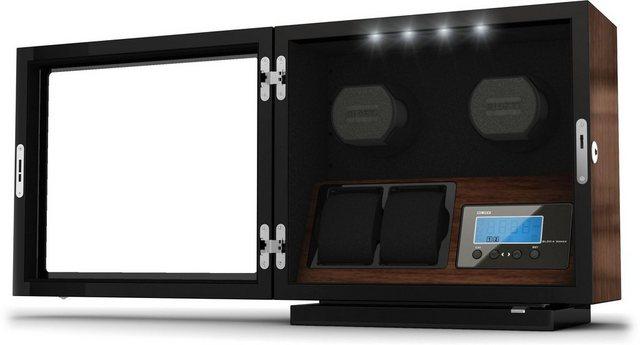 Boxy Uhrenbeweger »Boxy BLDC für 2 Uhren, 309417« | Uhren > Uhrenbeweger | Braun | Boxy
