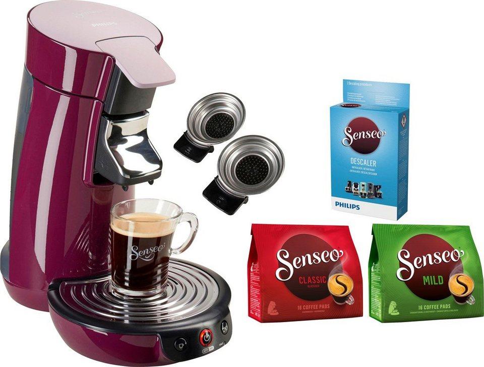 senseo kaffeepadmaschine senseo viva caf hd6563 90 inkl. Black Bedroom Furniture Sets. Home Design Ideas