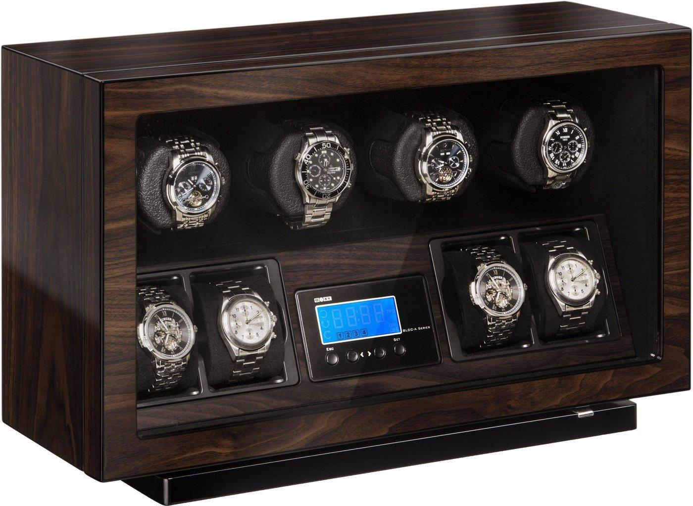 Boxy Uhrenbeweger »Boxy BLDC für 4 Uhren, 309418«   Uhren > Uhrenbeweger   Braun   Boxy