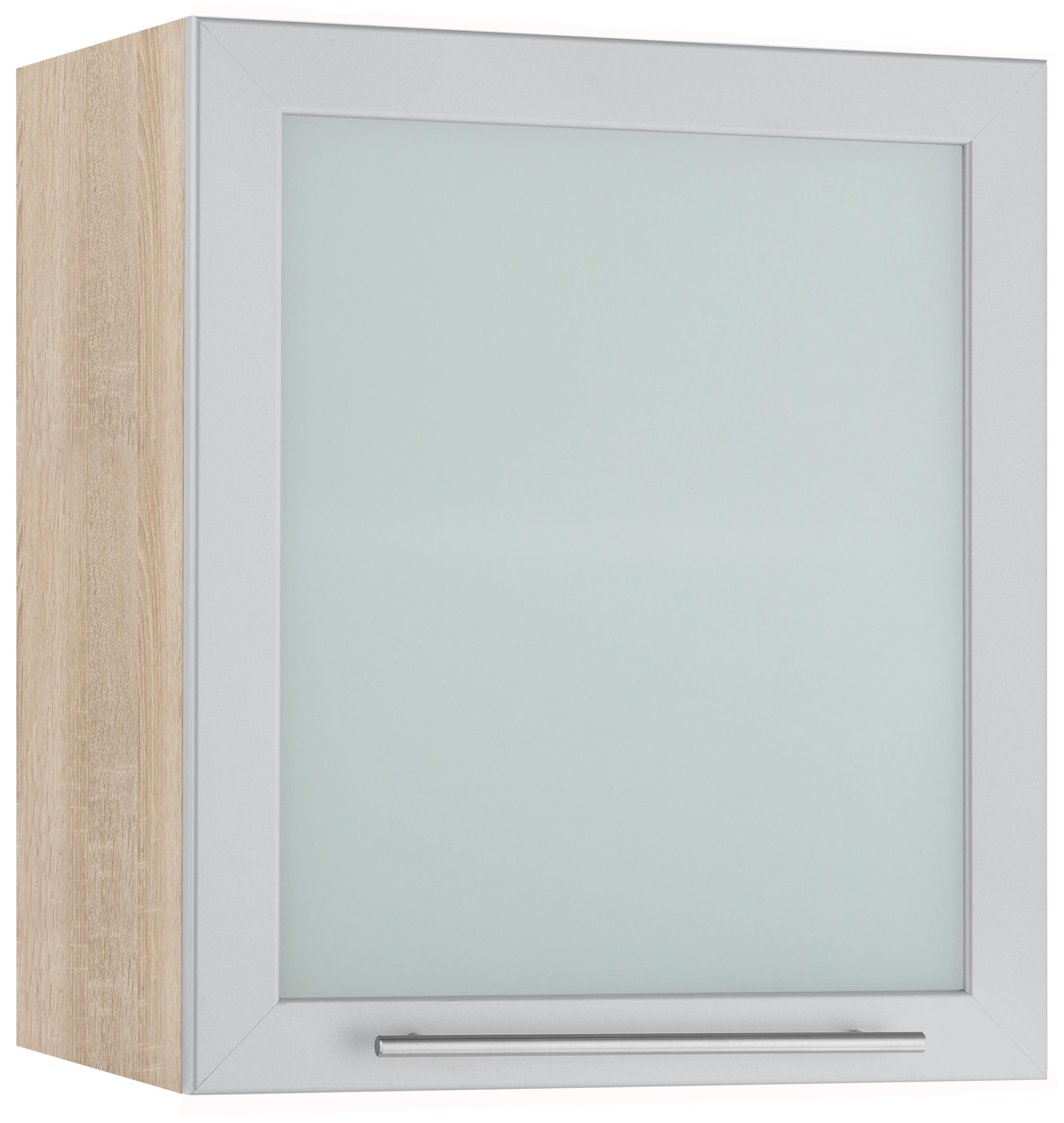 WIHO-Küchen Glashängeschrank »Flexi2«, Breite 50 cm   Wohnzimmer > Schränke > Weitere Schränke   Glanz   Melamin   wiho Küchen