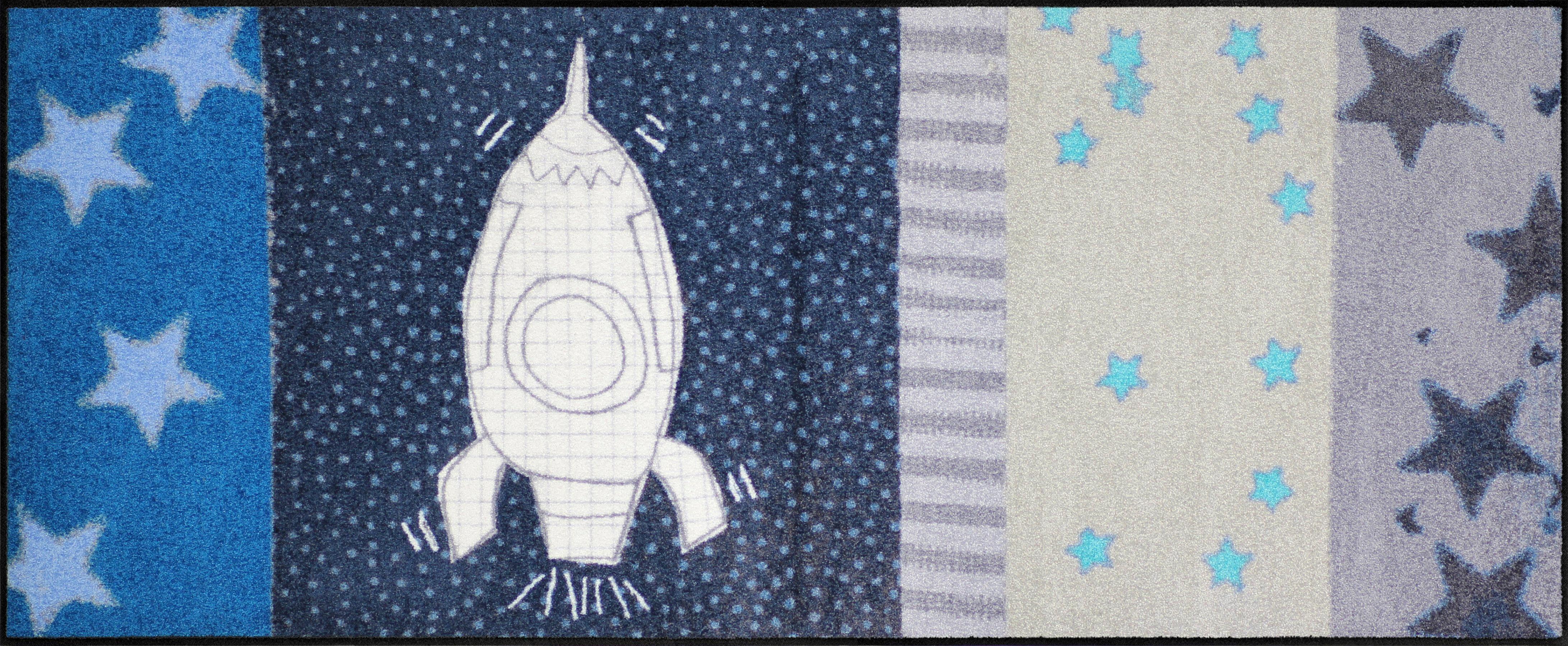 Läufer »Space Time«, Salonloewe, rechteckig, Höhe 6 mm