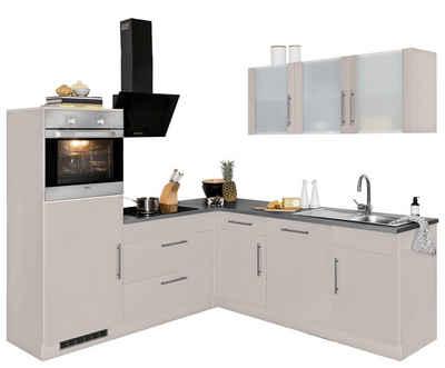 Wiho küchen winkelküche cali ohne e geräte breite 220 x 170