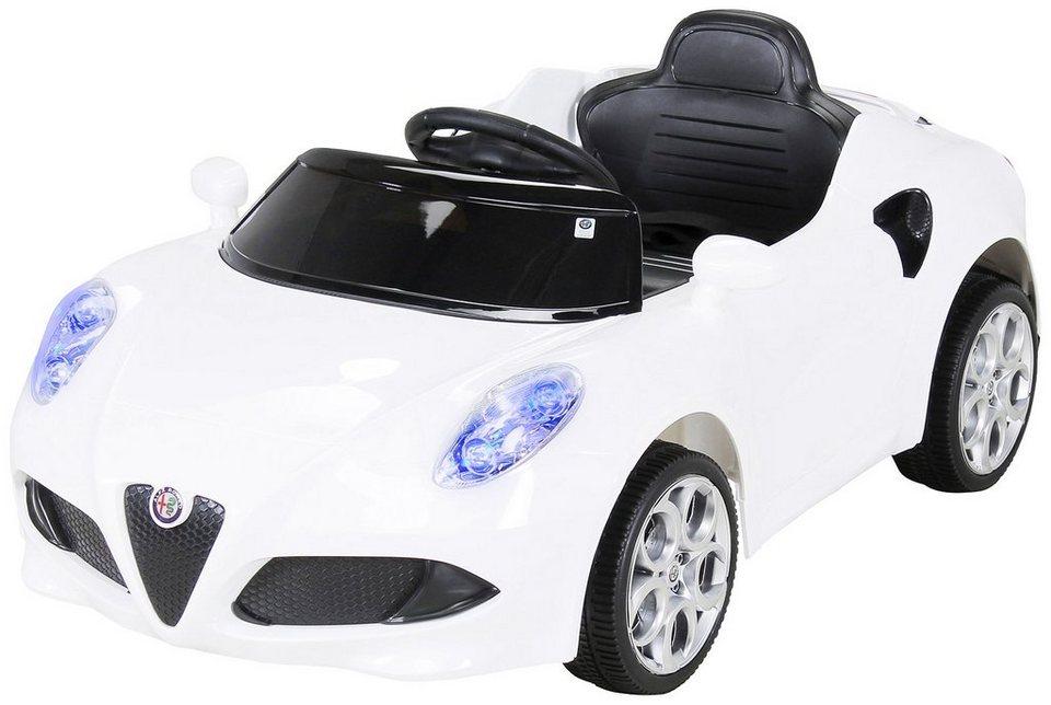 actionbikes motors elektroauto alfa romeo 4c f r kinder. Black Bedroom Furniture Sets. Home Design Ideas